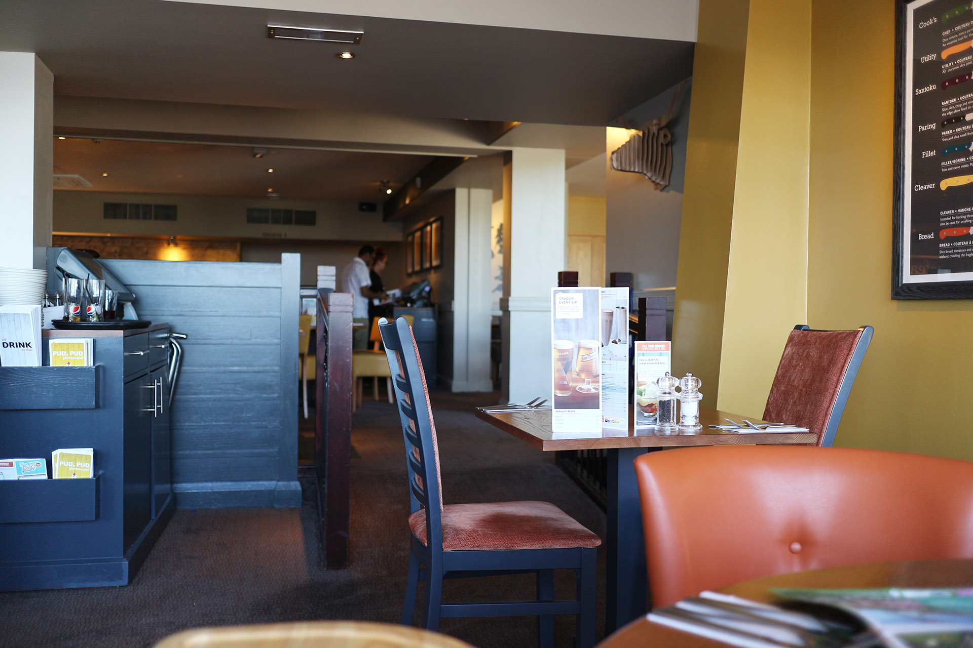 Belgrave Beefeater Review - Our review of a family meal out at the Belgrave Beefeater in Torquay, Devon
