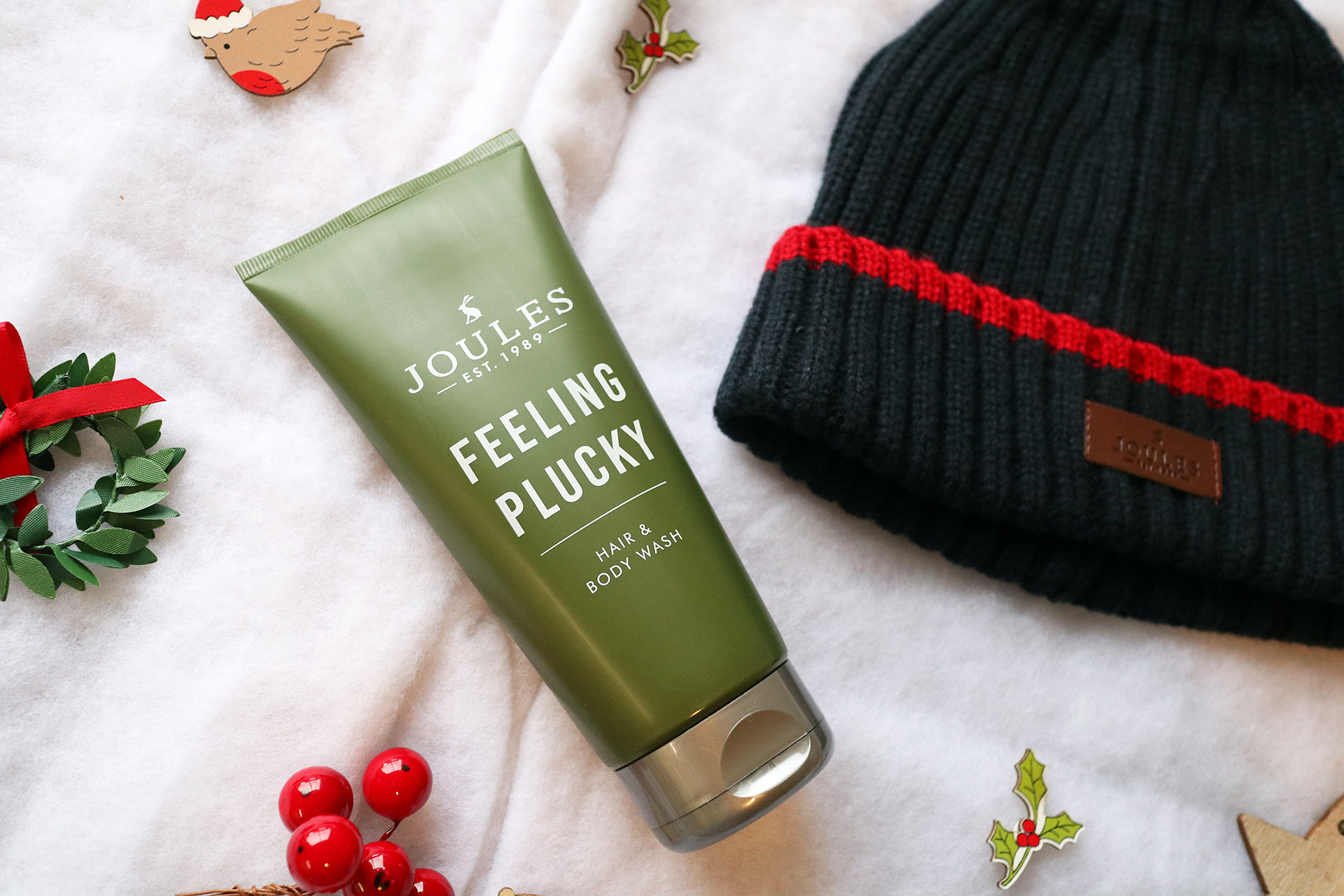 Joules Pull The Wool Over gift set unboxed