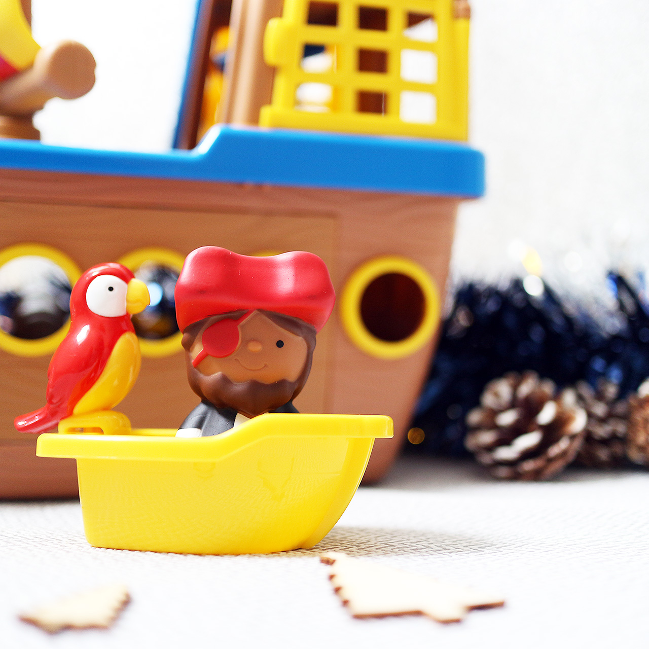 Tots Town pirate playset - gift ideas for babies and toddlers this Christmas