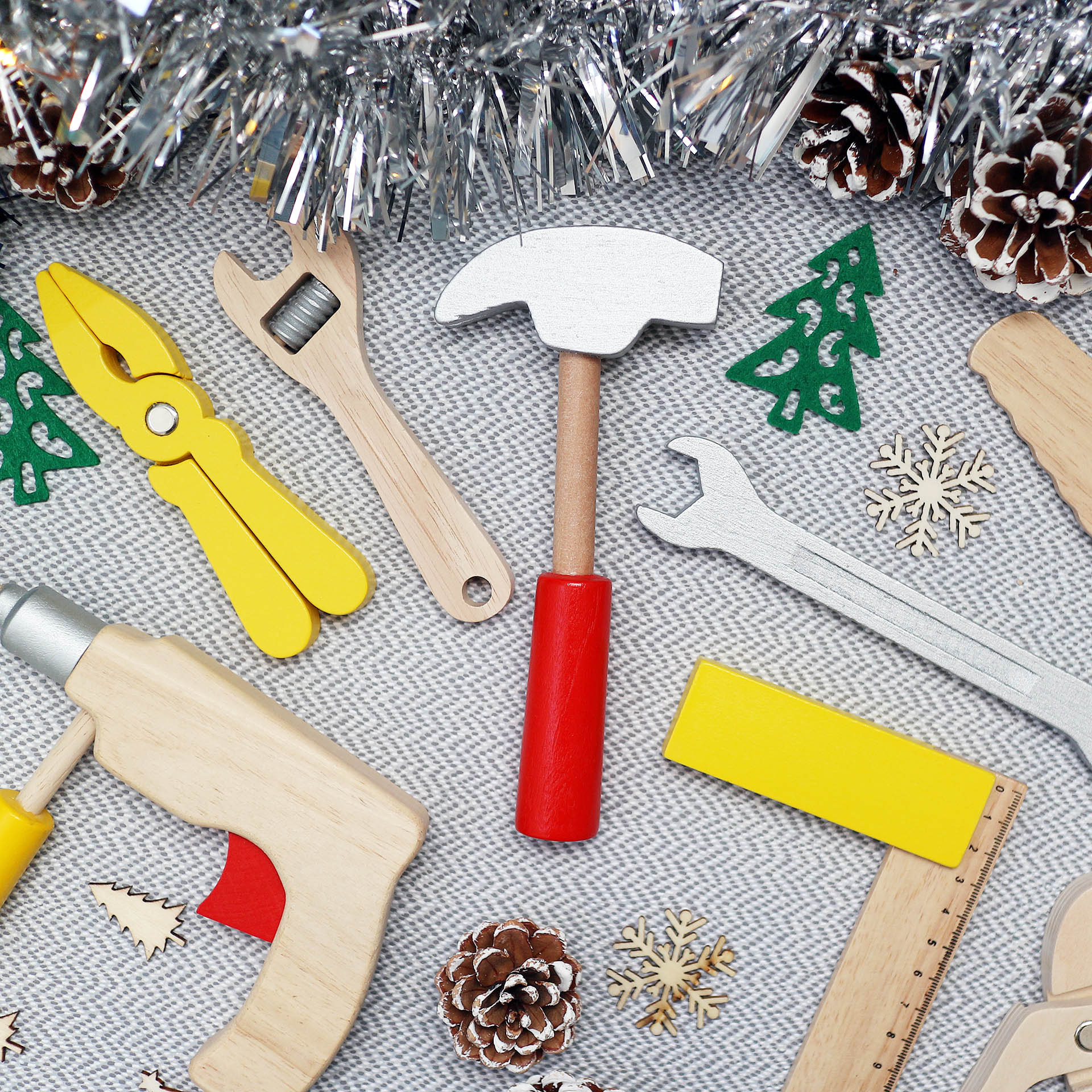 Janod DIY toolbox - perfect gift for preschoolers - Christmas gift guide