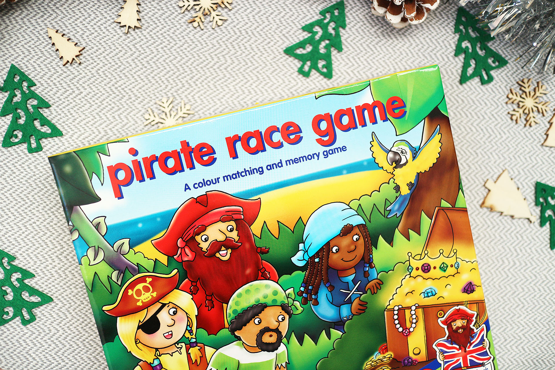 Pirate race game - Christmas gift guide for kids
