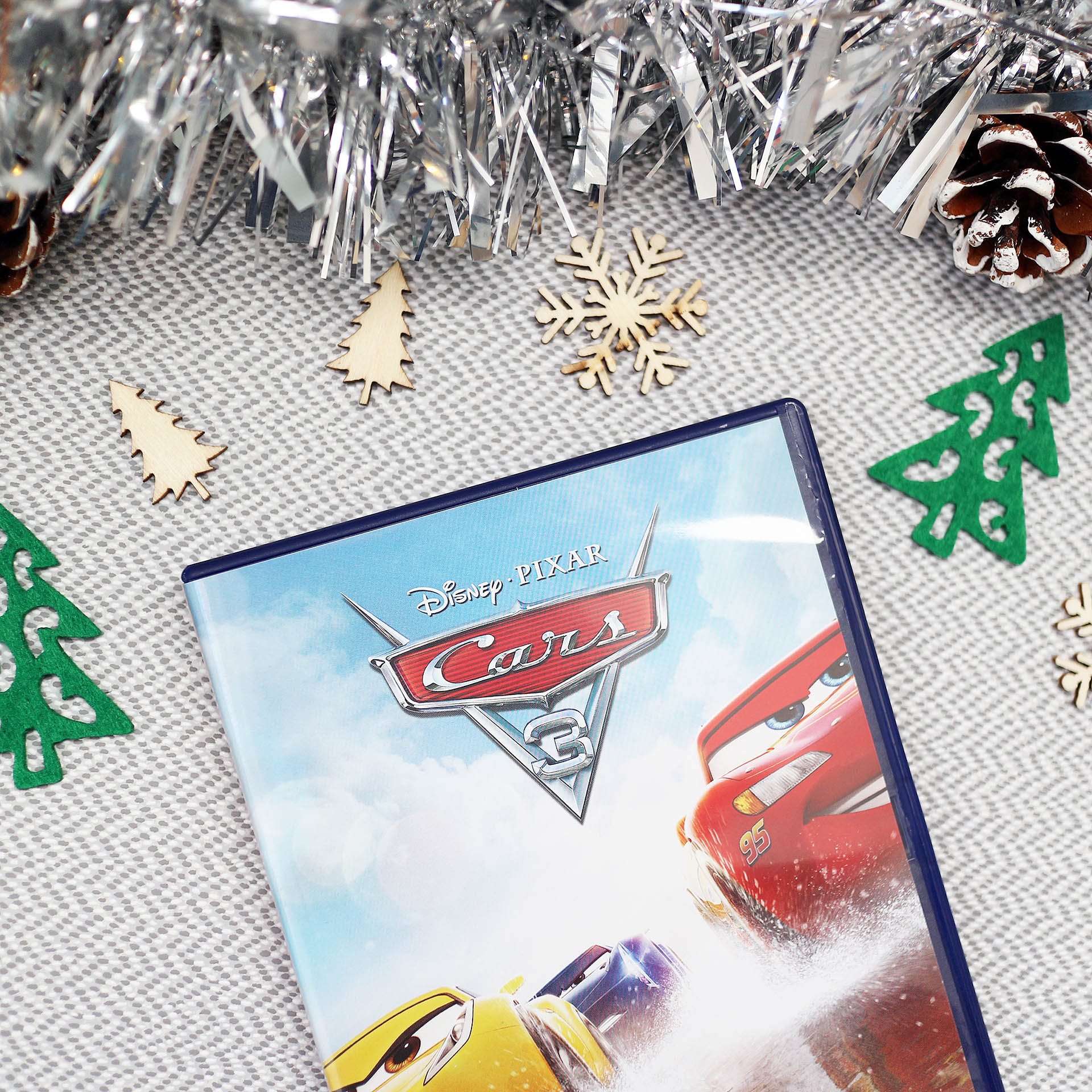 Cars 3 DVD - Christmas gift guide for car mad kids