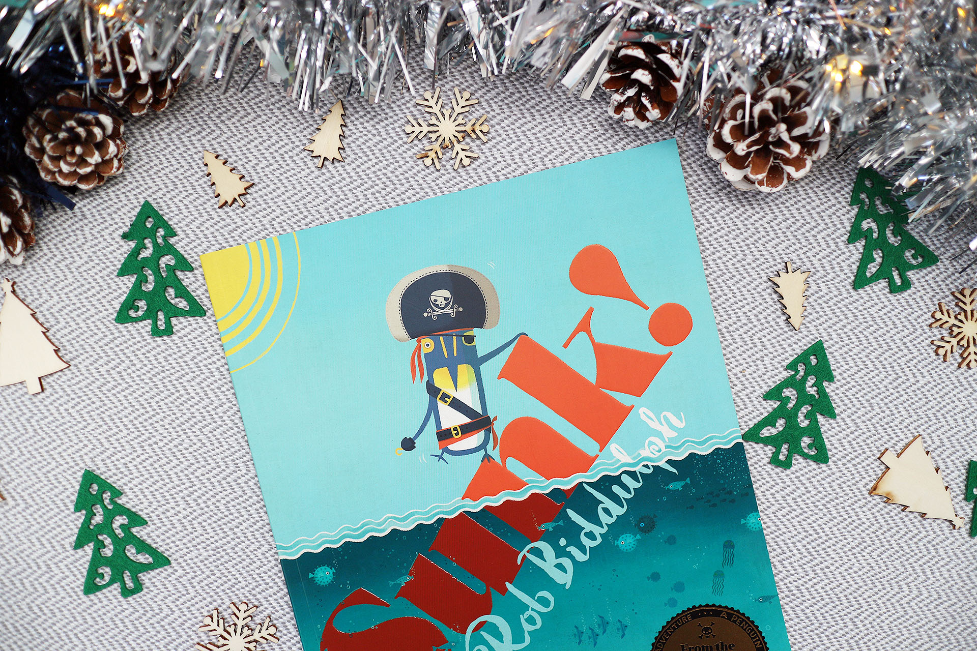 Sunk! by Rob Biddulph - a book, part of my Christmas gift guide