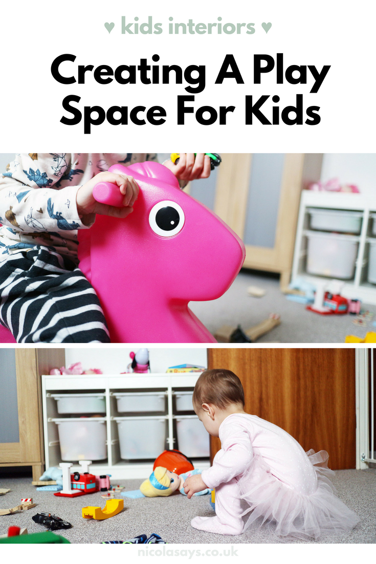 How we're creating a play space in the kids' bedroom this year.
