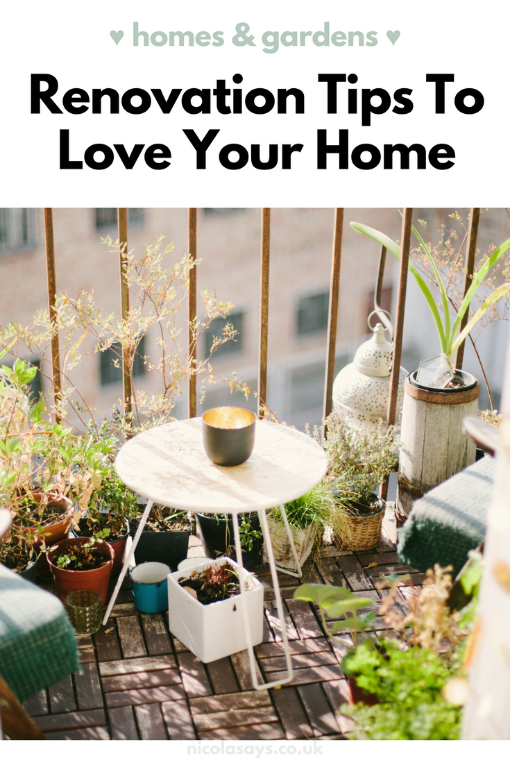 In this post I share some ideas on how you can love your home, instead of moving!