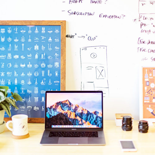 How to avoid social media burnout - image of laptop on a desk