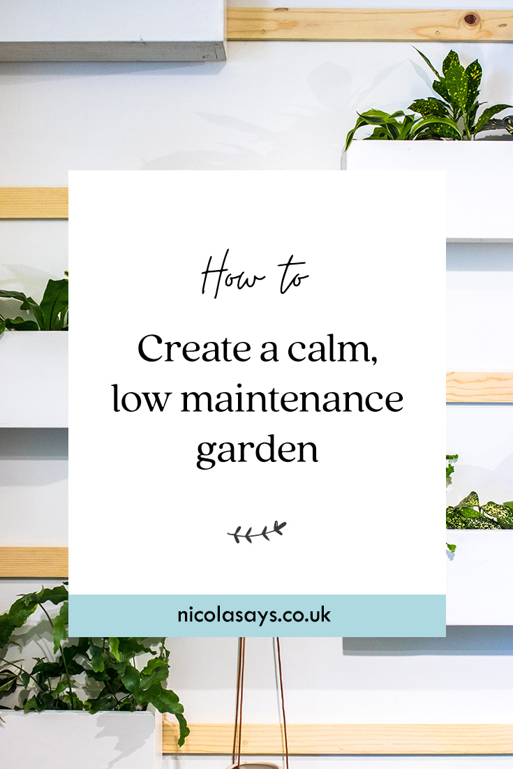 How to create a low maintenance garden at home including swapping to artificial grass, outdoor living styling tips and more