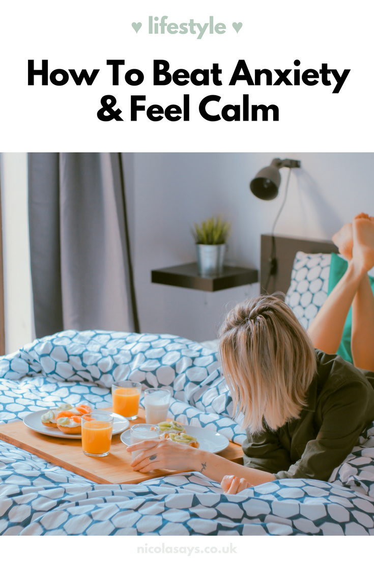 5 Ways to Reduce Anxiety - Read my latest blog post for ideas on how to stay calm if you're feeling overwhelmed, plus some tips and ideas for leading an anxiety-free life. For anxiety and social anxiety sufferers and anyone looking to reduce stress and anxiety in their life.