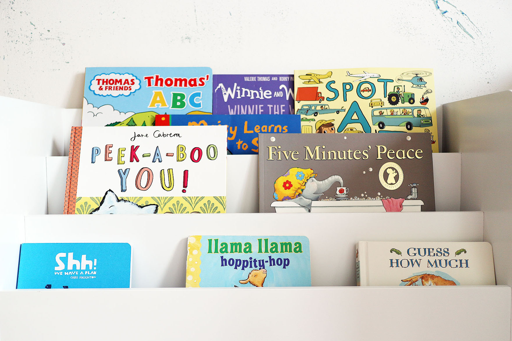 A look at our new kids bookcase - the Kirkton House Bookshelf from Aldi