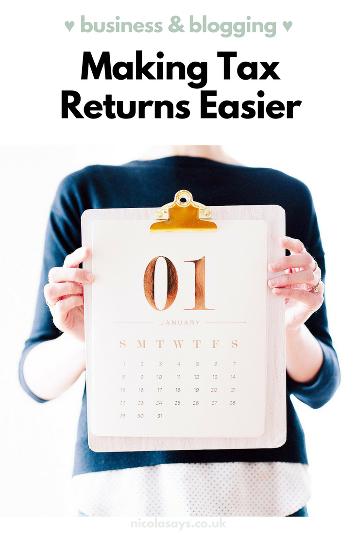 Top tips on how to make your tax return easier this year - including tracking income and expenses, being prepared, filing your emails and seeking support