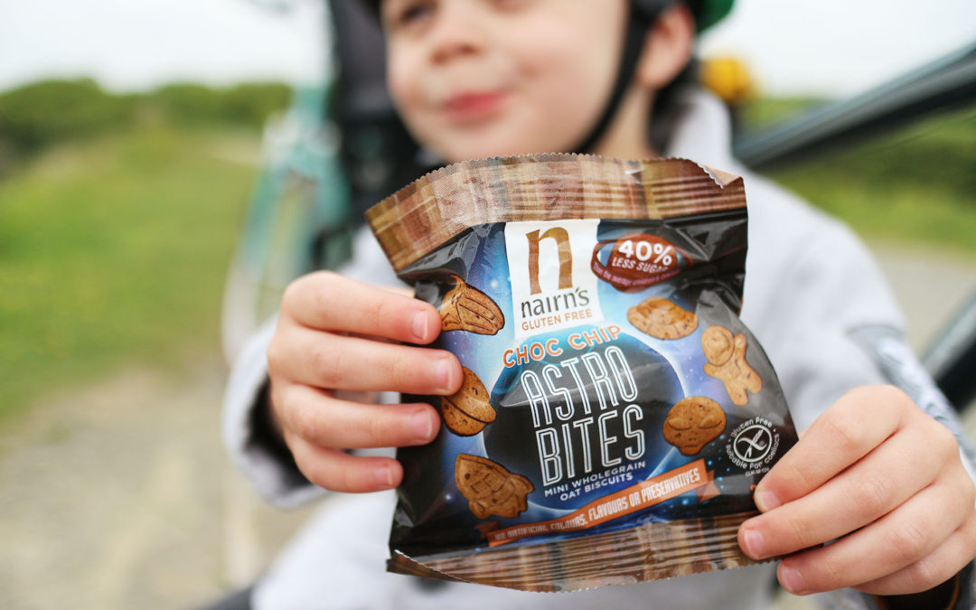 Snacking On The Go With Nairn's Astro Bites