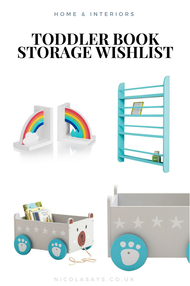 Toddler Book Storage Inspiration At Nicola Says