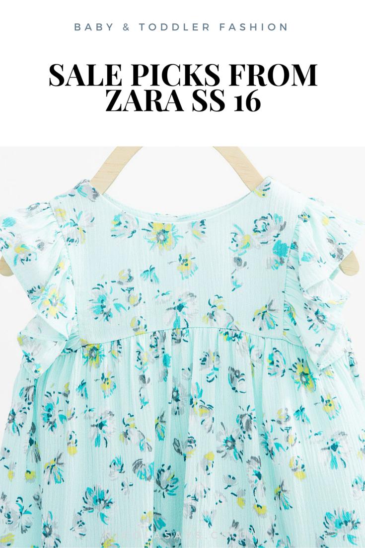 Sale picks - Baby & Kidswear in the Zara SS 16 sale