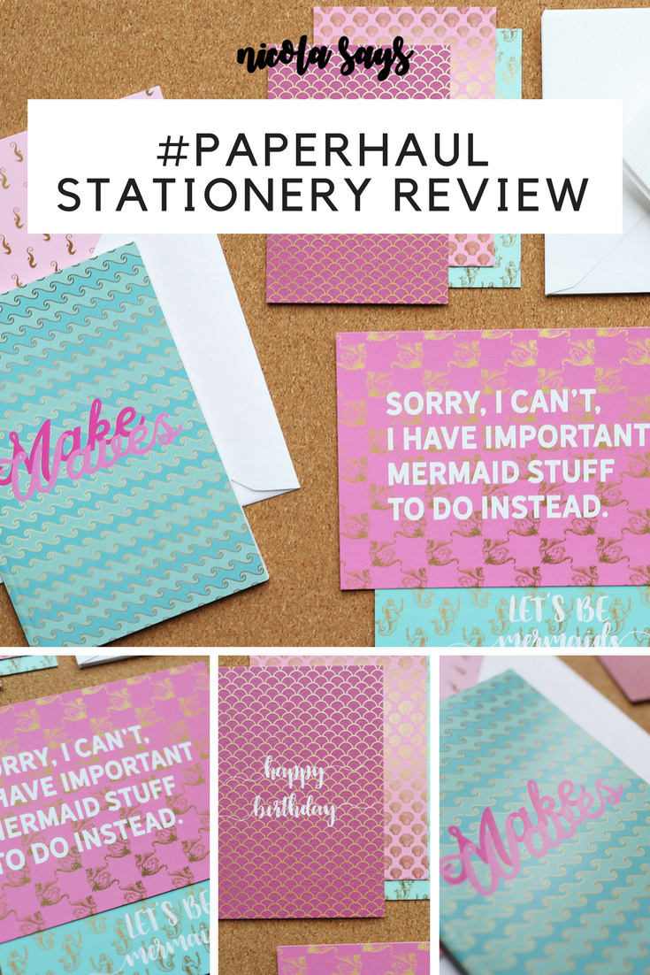 PaperHaul Stationery Subscription Service Review - My review of the #paperhaul stationery subscription, the perfect gift or monthly treat for paper lovers. Available worldwide.