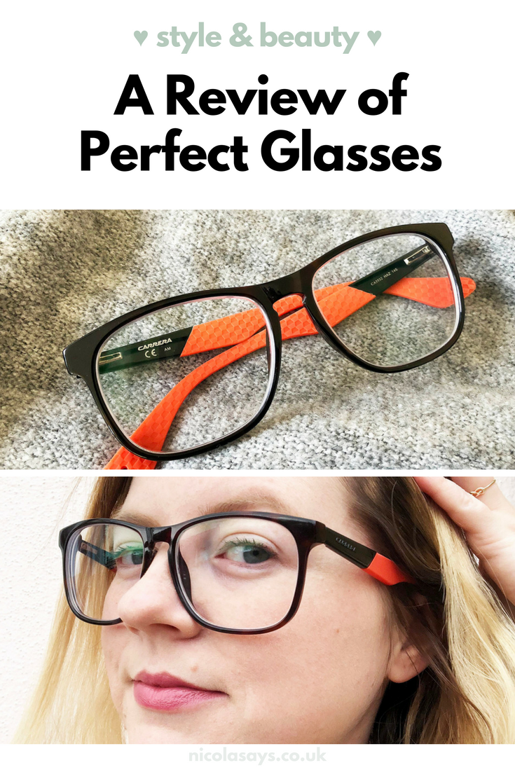 A review of Perfect Glasses and buying prescription glasses online