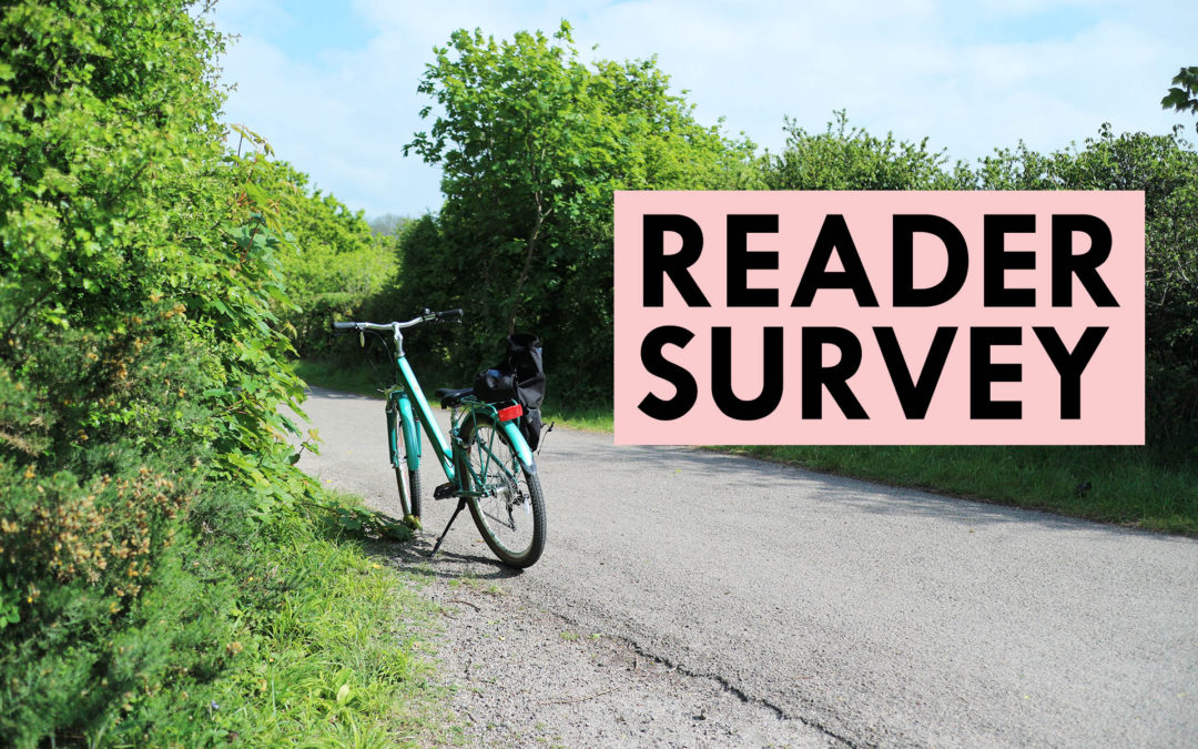 I'd Love Your Feedback! Take Part In My Reader Survey