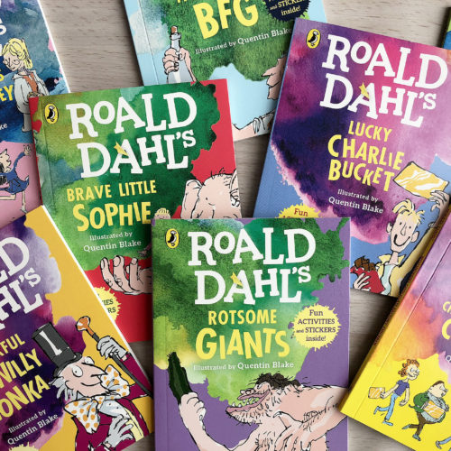 McDonald's Happy Readers campaign - Roald Dahl