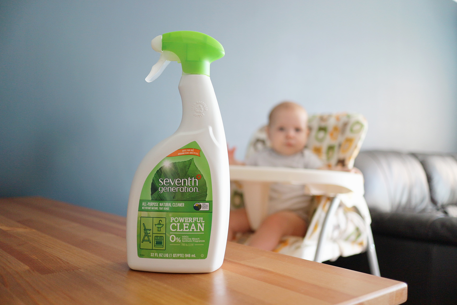 Seventh Generation cleaning products green cleaning review