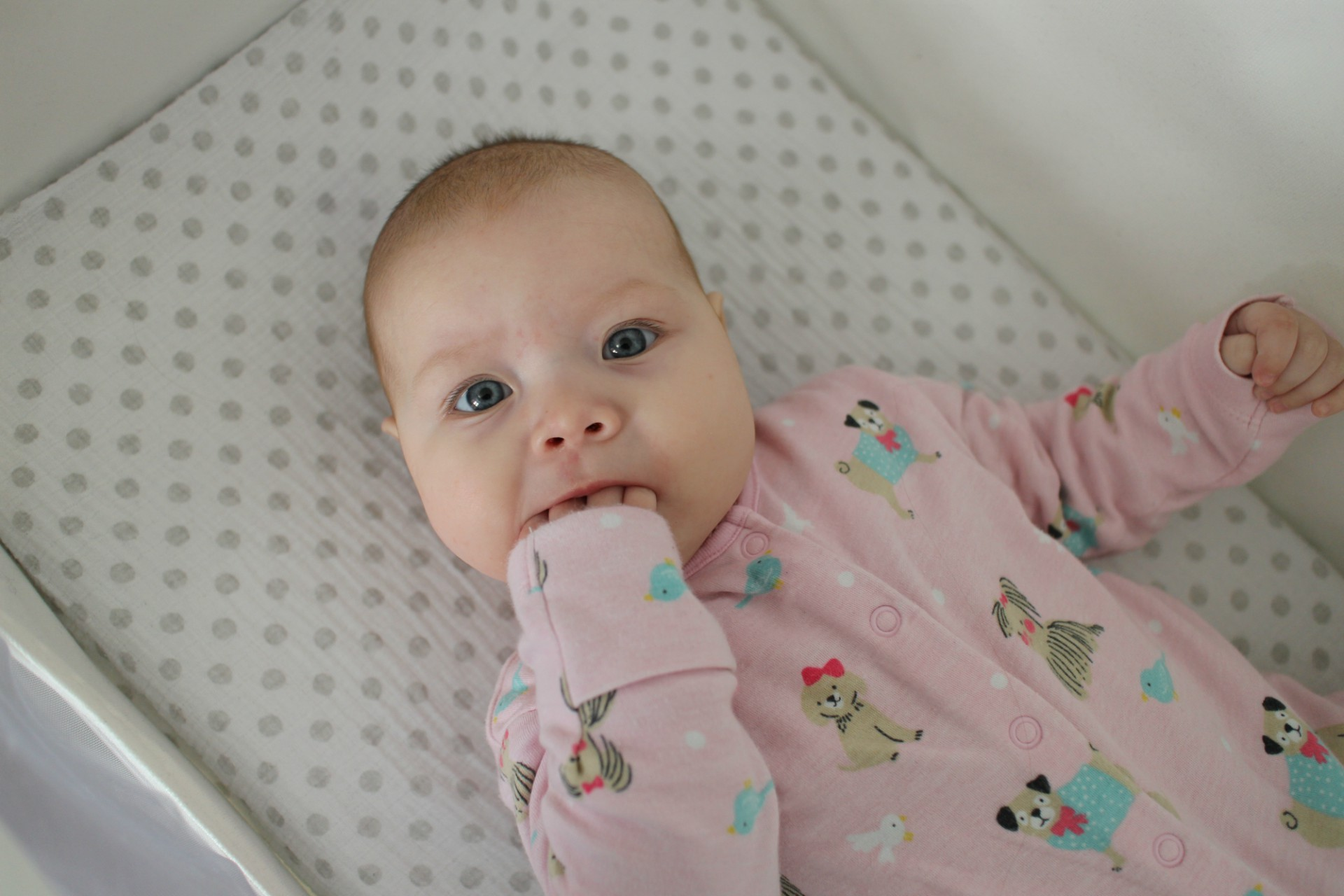 A review of the SnuzPod bedside crib in blush by Nicola Says