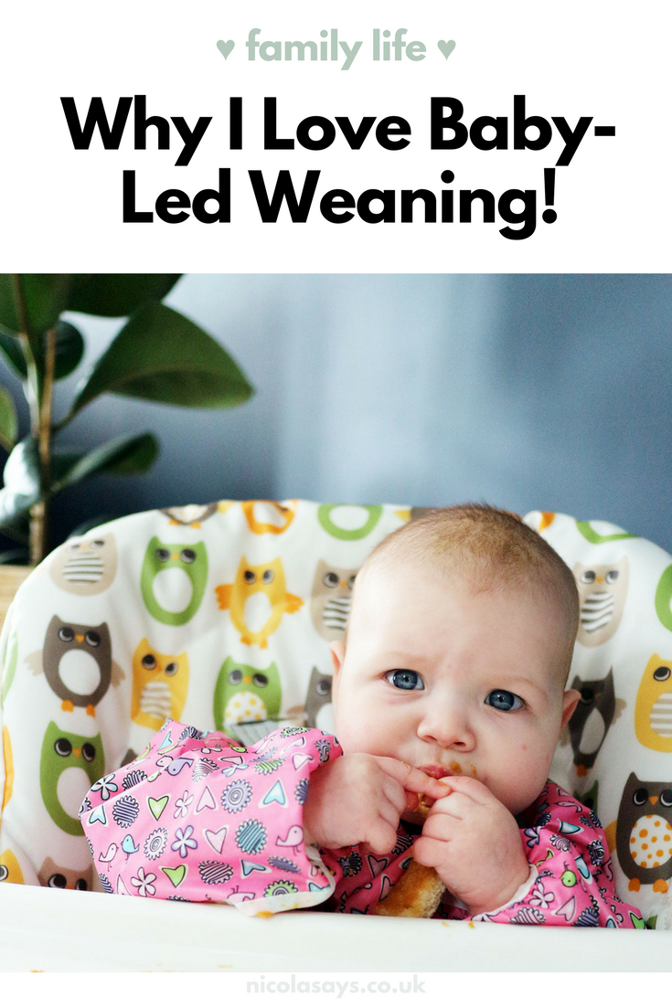 7 Things I love about baby led weaning - read more at nicolasays.co.uk